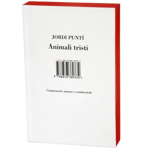 Copertina di Animali Tristi