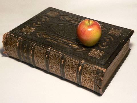 mela e bibbia