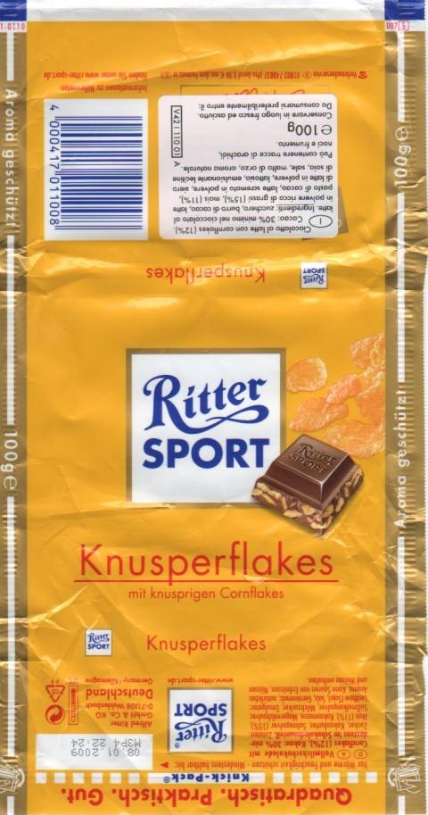 Ritter ai Cornflakes